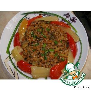 Рецепт Гречневый беспредел с овощами в горшочке