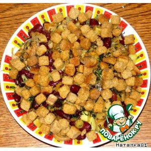 Рецепт Салат с фасолью