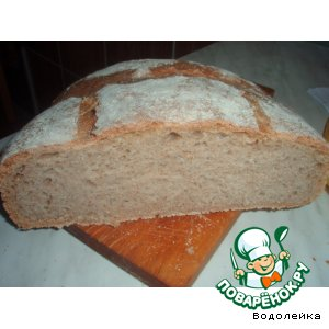Рецепт Французский деревенский хлеб Тома Леонард