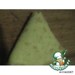 Рецепт Треугольнички с мясом