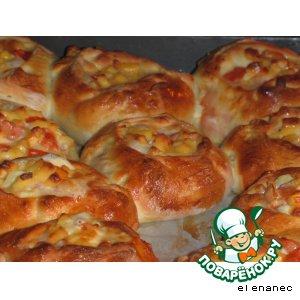 Как приготовить Мини пицца вкусный рецепт с фотографиями пошагово