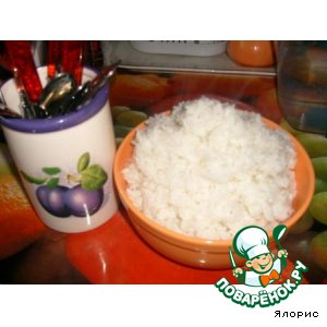 Рецепт Рассыпчатый рис