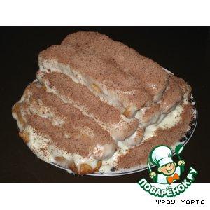 "Рецепт: Торт ""Вишневая горка"""