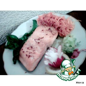Рецепт Рыбка паровая (постная)