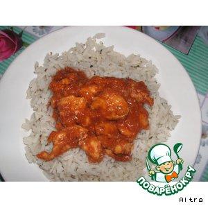 Готовим рецепт с фотографиями Курица по-тайски