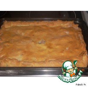 Рецепт Пирог с салом и картофелем
