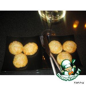 Рецепт Chevre en Croute/Козий сыр в слоеном тесте