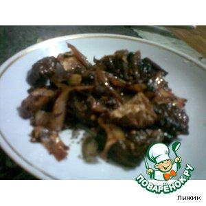 Рецепт Тушеные овощи с тофу