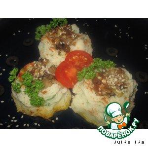 """Рецепт Картофель с грибами """"Розмарин"""""""