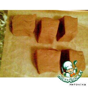 Рецепт: Шоколадное дрожжевое тесто