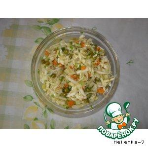 Рецепт Весенний постный салатик