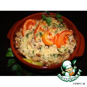 Рецепт Гратан из томатов с мясом