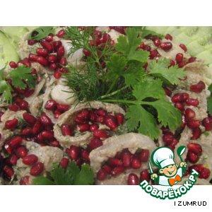 Рецепт Запечeнный лук с орехами