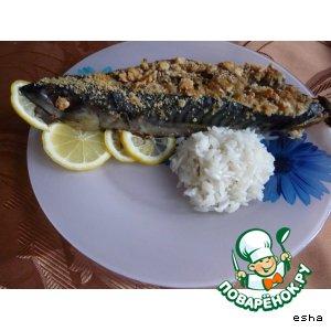Рецепт Рыбка, фаршированная грибами