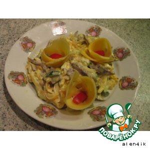 "Рецепт ""Дворянский"" салат с сердцем"