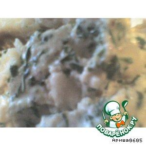 Рецепт Рыба под кинзо-ореховым соусом