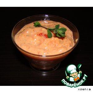 Рецепт Томатно-сырный соус для курицы