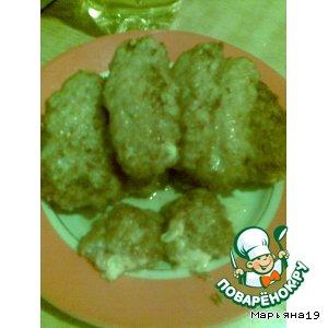 Рецепт Котлеты куринные с сыром