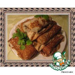 Рецепт Картофельные блинчики с начинкой