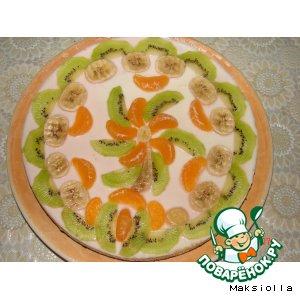 Рецепт Фруктовый тортик