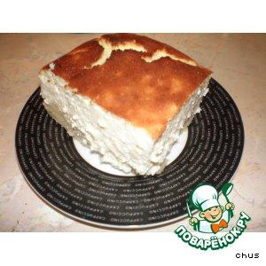 Рецепт Пирог с яичным ликером