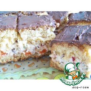 Рецепт Кассата - творожный пирог по-итальянски