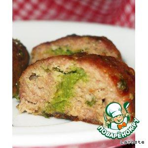 Рецепт Мясные зразы со стручковой фасолью
