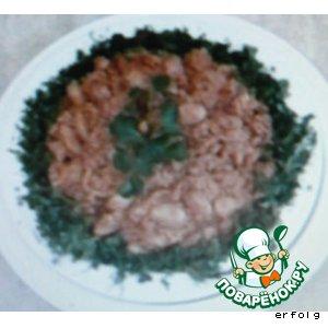 Рецепт Фасоль в томатно-ореховом соусе