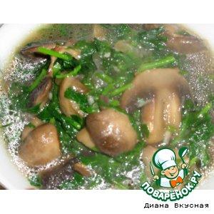 Рецепт Чакапули из грибов