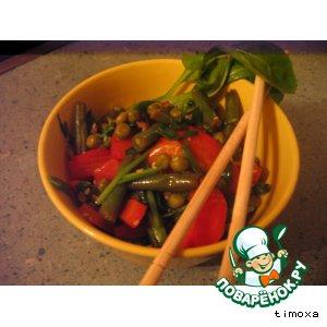 Овощи, жареные по-китайски