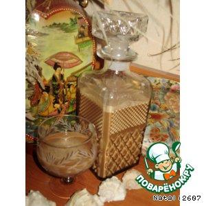 Рецепт Сливочный ликер «Карамельно-шоколадный рай»