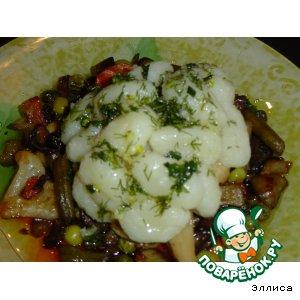 Рецепт Картофельные клецки с овощами