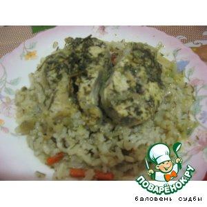 Рецепт Минтай в луково-сметанном соусе