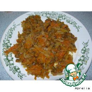 Рецепт Постное овощное рагу