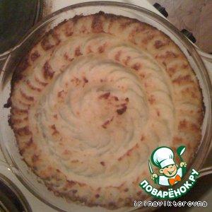Рецепт Картофельная запеканка с чечевицей