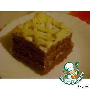 """Рецепт Торт """"Шоколадница"""""""