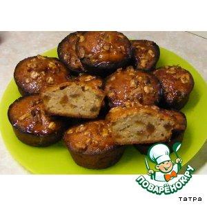 Медовые кексики с финиками, бананами и грецкими орехами рецепт приготовления с фото как готовить