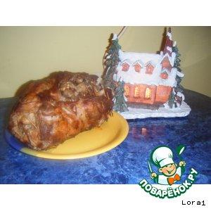 Рецепт Свиная шейка фаршированная