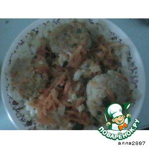 Рецепт: Рыбные котлетки