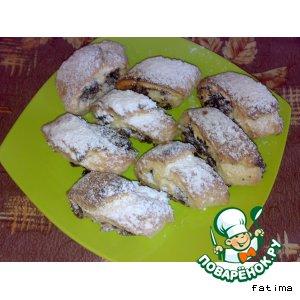 Рецепт Печенье с финиковой халвой