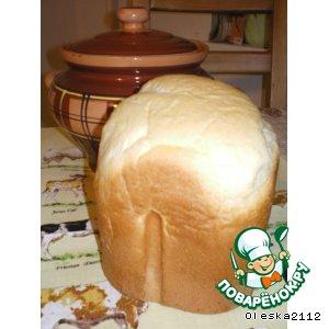 Рецепт Хлеб пшеничный на кефире
