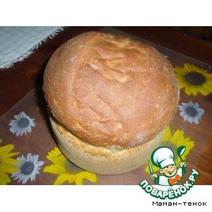 Рецепт Простой домашний хлеб (для хлеборучки)