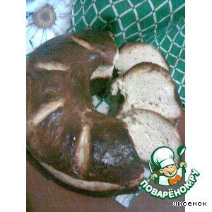 Рецепт Пшенично-творожный кулич