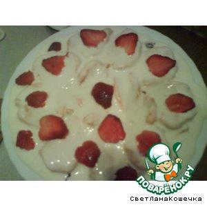 Рецепт Зефирный десертный тортик