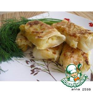 Рецепт Голубцы с грибами, овощами и рисом