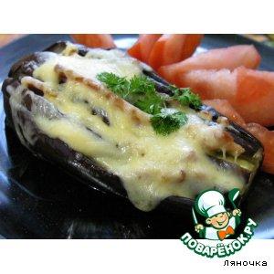 Рецепт Баклажаны, запеченные с беконом и сыром