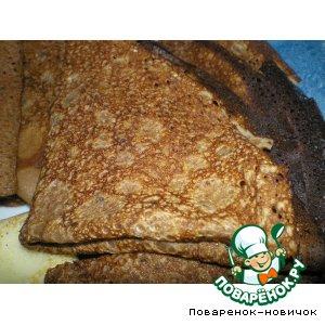 Шоколадные блины рецепт с фотографиями пошагово как готовить