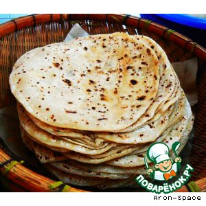 Чапати - чудесные индийские лепeшки