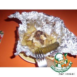 Свинина в фольге вкусный рецепт приготовления с фотографиями