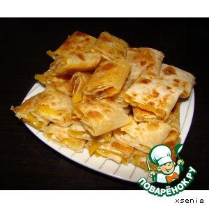 Рецепт Китайские галеты с курагой